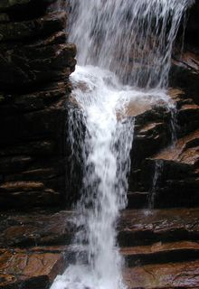thumb waterfall